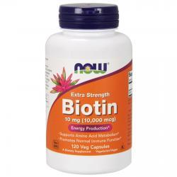 Now Foods Biotin 10 000 mcg 120 vcaps