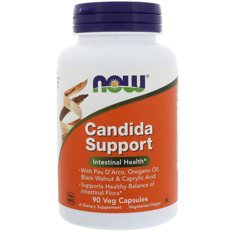 Now Foods Candida Support 90 vcaps - фото 1