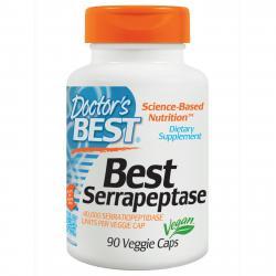 Doctor's Best Best Serrapeptase 90 vcaps