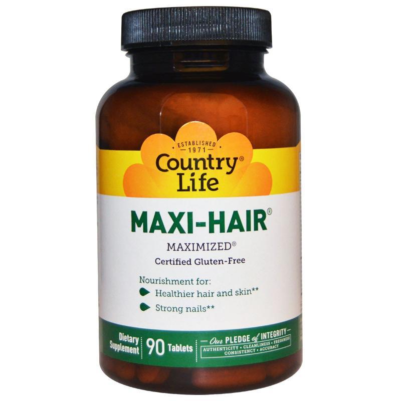 Country Life Maxi-Hair 90 tab - фото 1