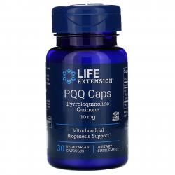 Life Extension PQQ Caps with BioPQQ 10 mg 30 vcaps
