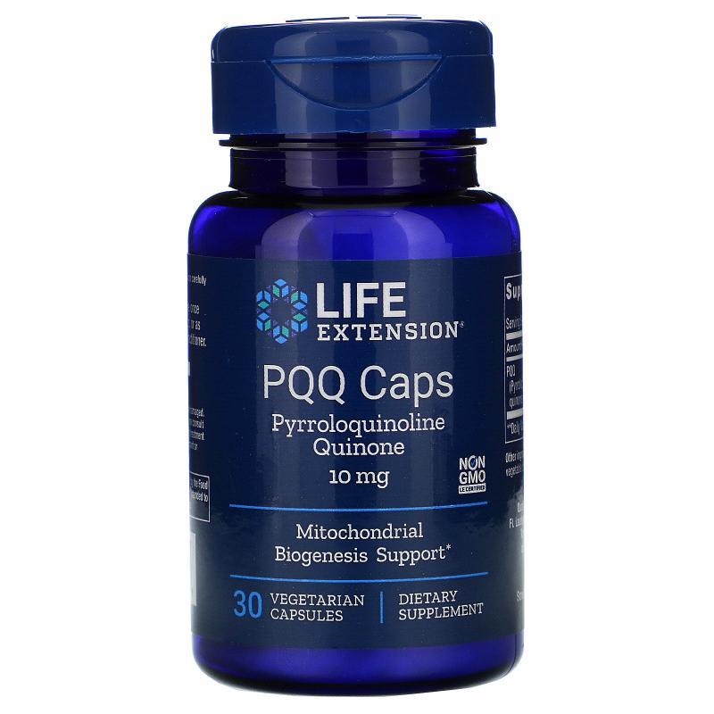 Life Extension PQQ Caps with BioPQQ 10 mg 30 vcaps - фото 1