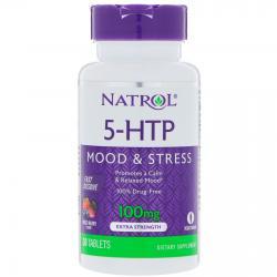 Natrol 5-HTP Wild Berry Flavor 100 mg 30 tab