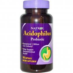Natrol Acidophilus Probiotic 100 Capsules
