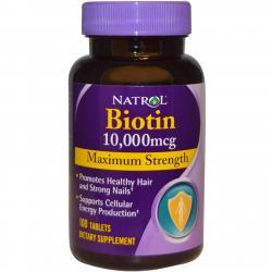 Natrol Biotin 10.000 mcg 100 tab