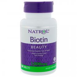 Natrol Biotin 1000 mcg 100 tab