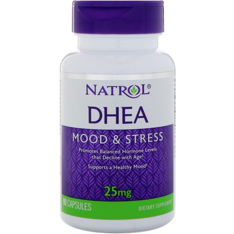 Natrol DHEA 25 mg 90 caps - фото 1