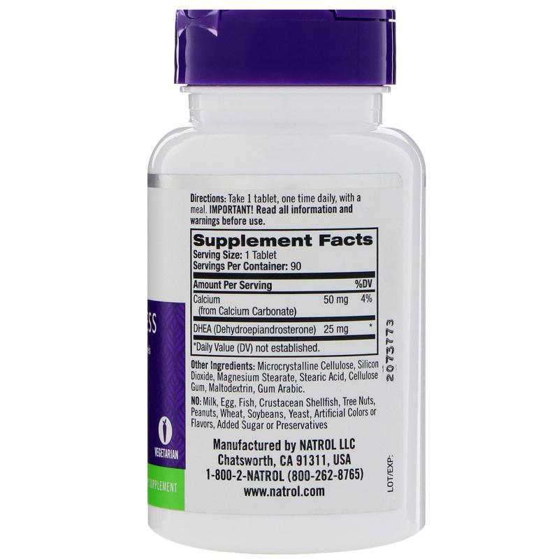 Natrol DHEA 25 mg 90 tab - фото 1