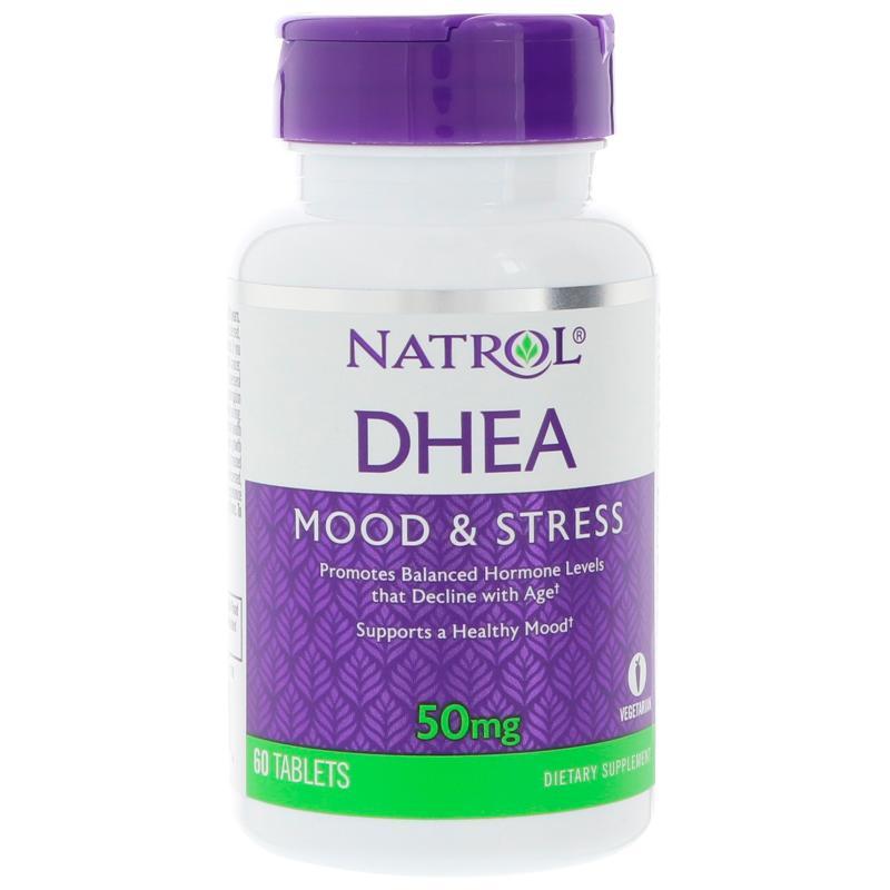 Natrol DHEA 50 mg 60 tab - фото 1