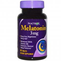 Natrol Melatonin 3 mg 60 tab