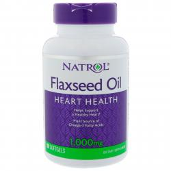 Natrol Flaxseed 1000 mg 90 softgels
