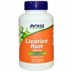 Now Foods Licorice Root 450 mg 100 caps