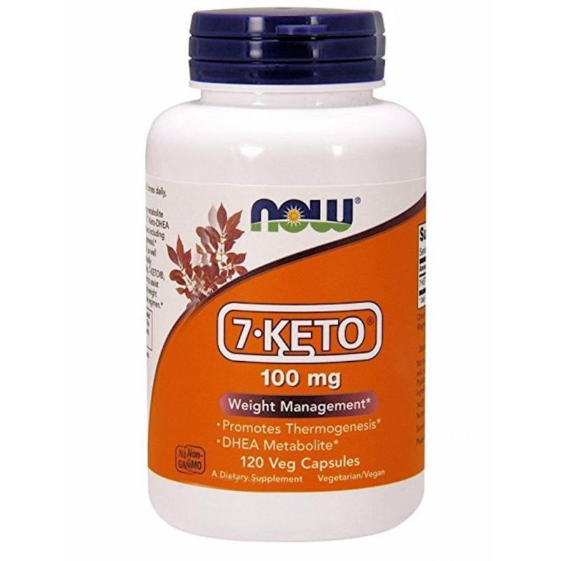 Now Foods 7-KETO 100 mg 120 vcaps - фото 1