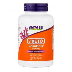 Now Foods 7-KETO LeanGels 100 mg 120 softgels