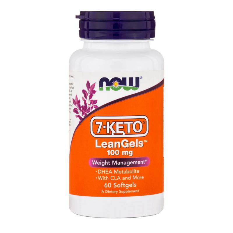 Now Foods 7-KETO LeanGels 100 mg 60 softgels - фото 1
