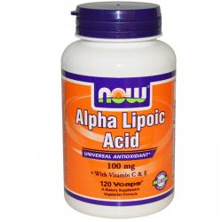 Now Foods Alpha Lipoic Acid 100 mg 120 caps