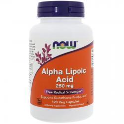 Now Foods Alpha Lipoic Acid 250 mg 120 vcaps