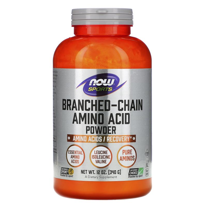 Now foods Branched Chain Amino Acid Powder 340 g - фото 1