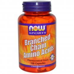 Now Foods Branched Chain Amino Acids 120 caps
