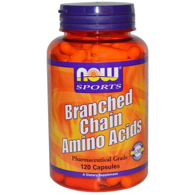 Now Foods Branched Chain Amino Acids 120 caps - фото 1