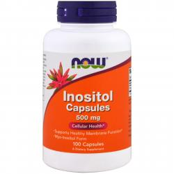 Now Foods Inositol 500 mg 100 caps