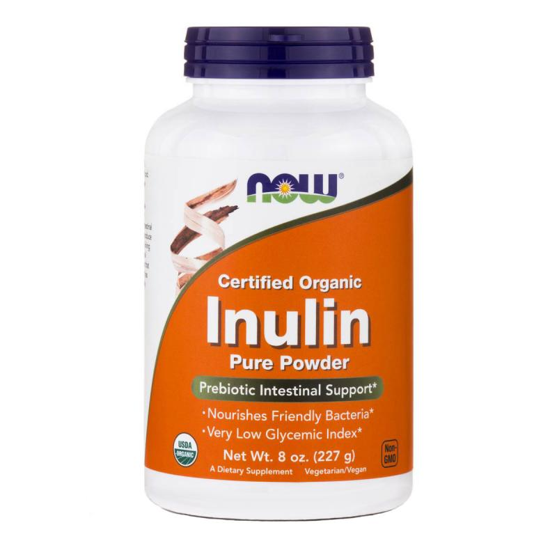 Now Foods Inulin Pure Powder 227 g - фото 1