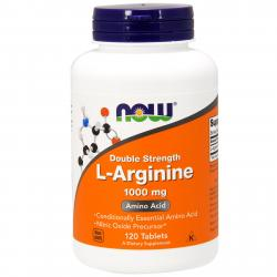 Now Foods L-Arginine 1000 mg 120 tab