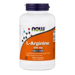 Now Foods L-Arginine 500 mg 250 caps