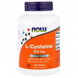 Now Foods L-Cysteine 500 mg 100 tab