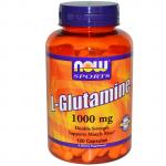 Now Foods L-Glutamine 1000 mg 120 caps - фото 1