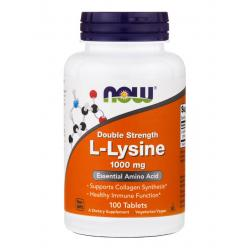 Now Foods L-Lysine 1000 mg 100 tab