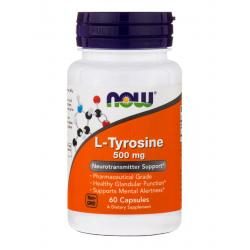 Now Foods L-Tyrosine 500 mg 60 caps