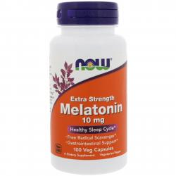 Now Foods Melatonin 10 mg 100 vcaps