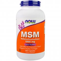 Now Foods MSM 1000 mg 240 caps