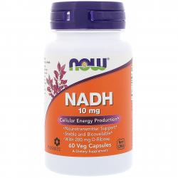 Now Foods NADH 10 mg 60 vcaps