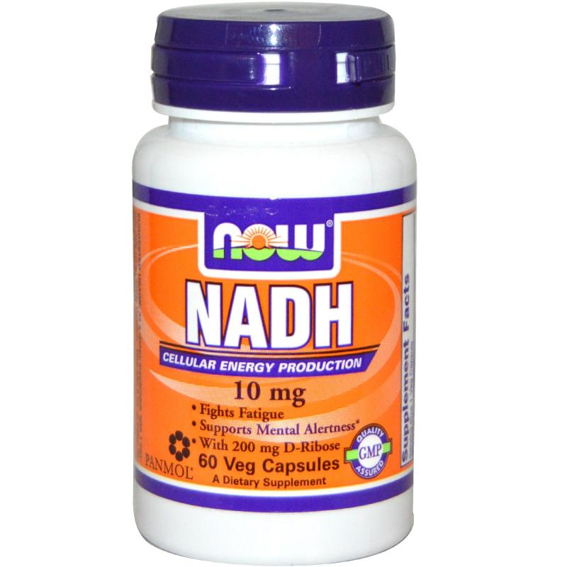 Now Foods NADH 10 mg 60 vcaps - фото 1