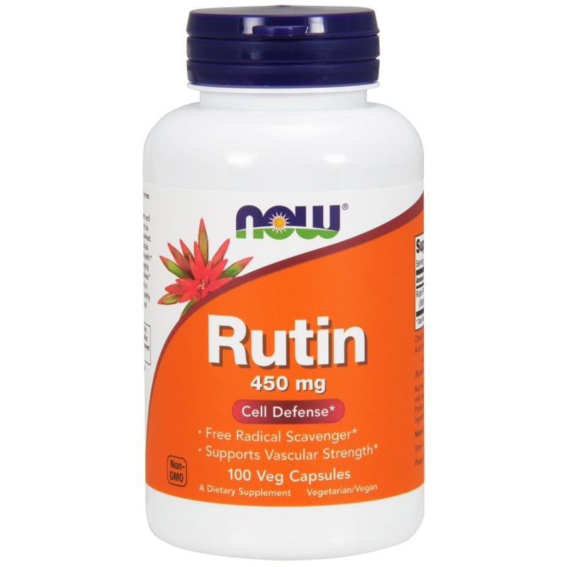 Now Foods Rutin 450 mg 100 vcaps - фото 1