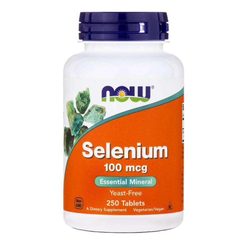 Now Foods Selenium 100 mcg 250 tab - фото 1