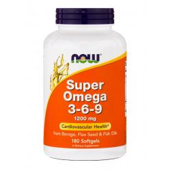 Now Foods Super Omega 3-6-9 1200 mg 180 soft