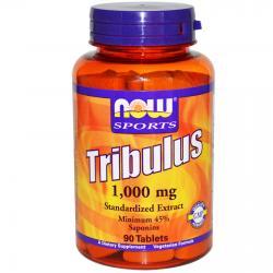 Now Foods Tribulus 1000 mg 90 tab