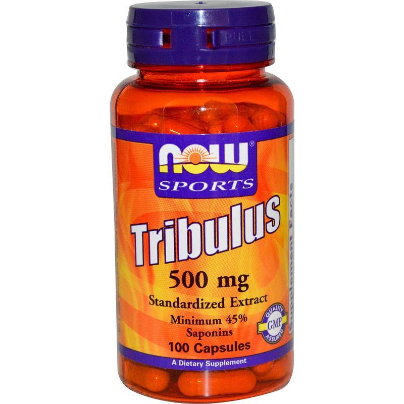 Now Foods Tribulus 500 mg 100 caps - фото 1