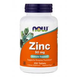 Now Foods Zinc 50 mg 250 tab