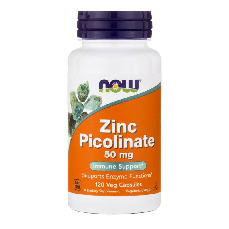 Now foods Zinc Picolinate 50 mg 120 caps - фото 1
