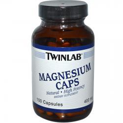 Twinlab Magnesium Caps 400 mg 100 caps