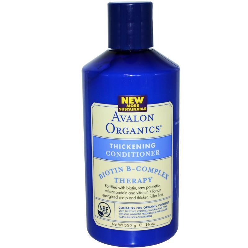Кондиционер Avalon Organics Biotin B-Complex 397 g - фото 1