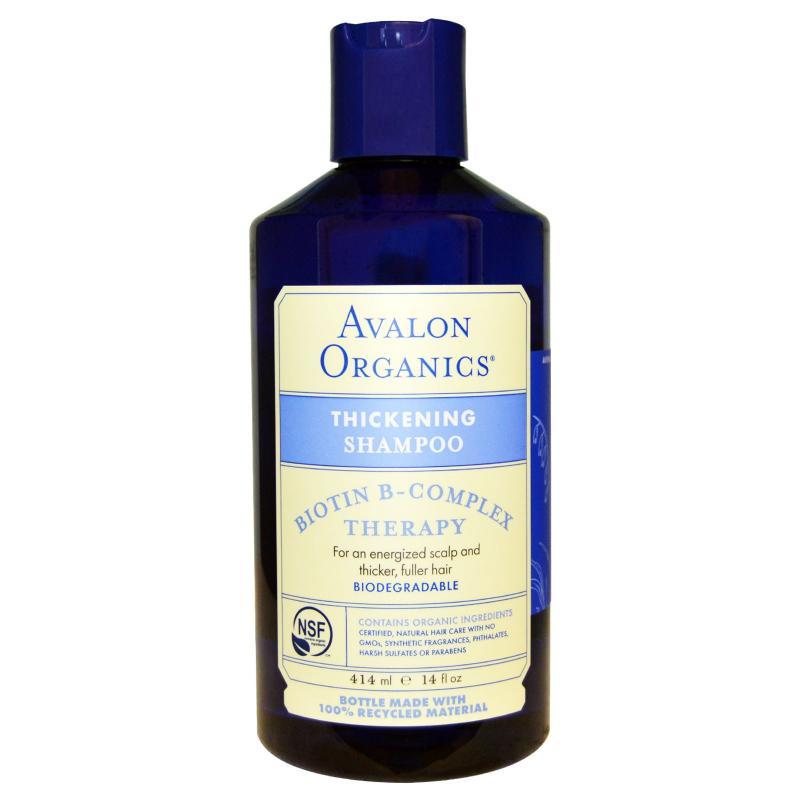 Шампунь Avalon Organics Biotin B-Complex 414 ml - фото 1