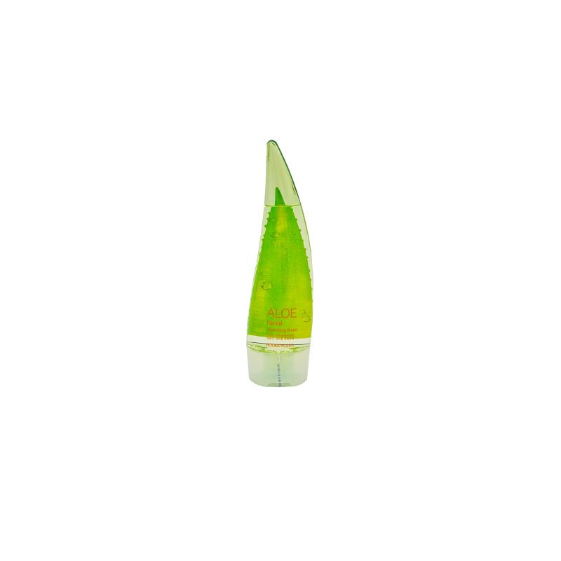 Holika Очищающая пенка Aloe Cleansing Foam 150 мл - фото 1