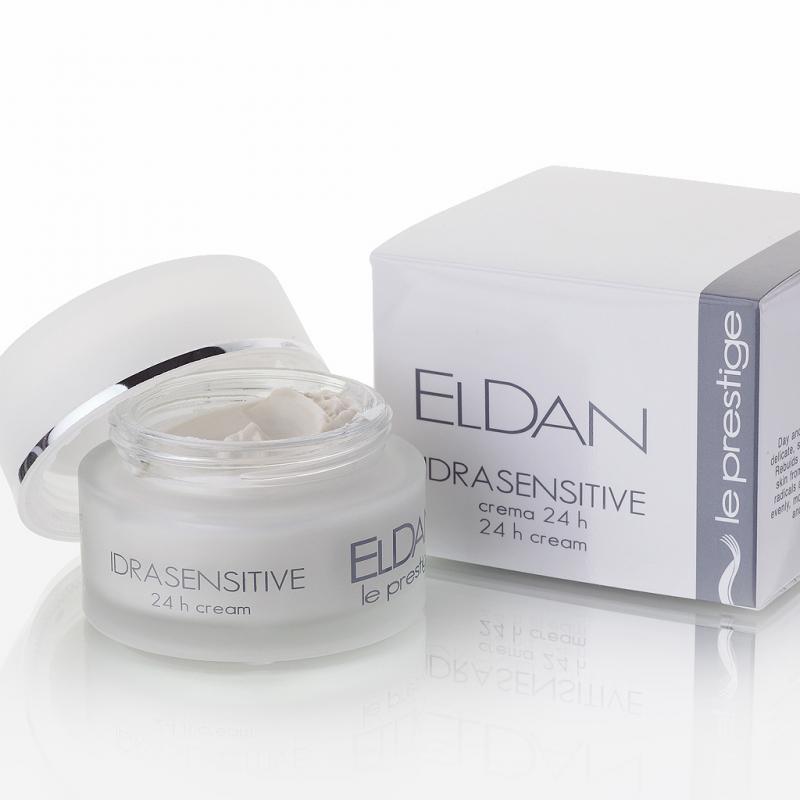 Eldan Idrasensitive 24 hour Увлажняющий крем для чувствительной кожи 50 мл - фото 1
