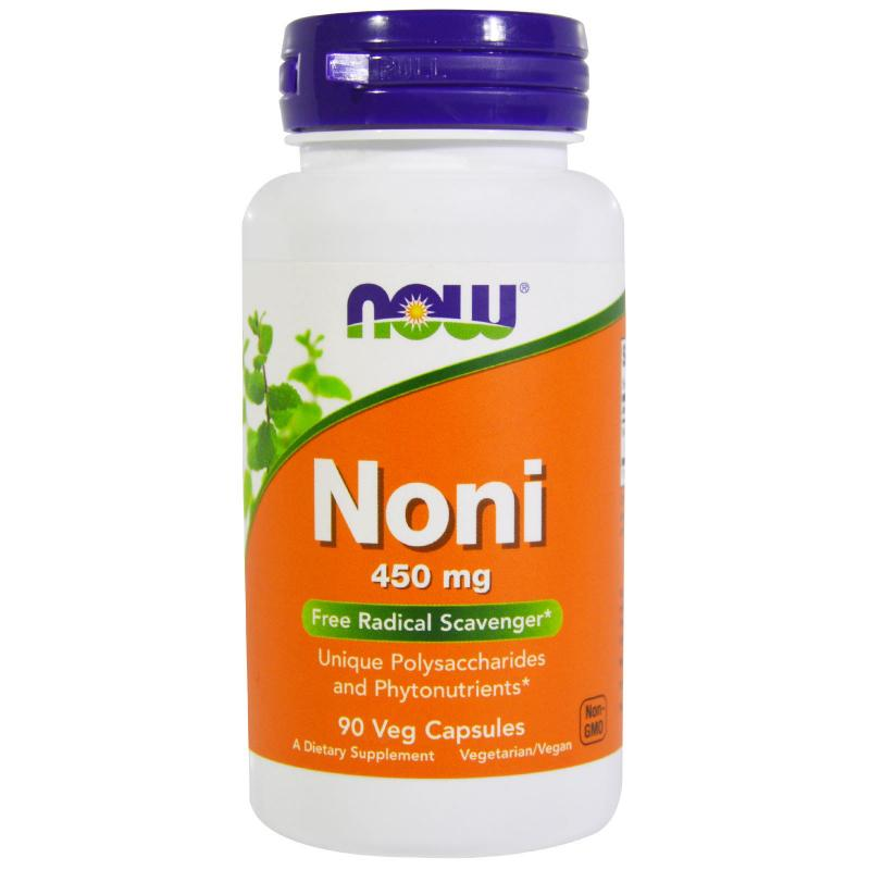 Now Foods Noni 450 mg 90 Veg capsules - фото 1