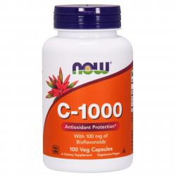 Now Foods C-1000 with 100 mg of Bioflavonoids100 vcaps